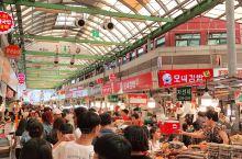 百去不厌的Gwangjang市场