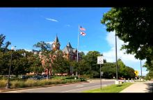 美国大学环境真不错