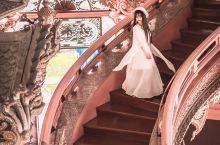 曼谷小众拍照圣地|少女心满满的粉色三头神象博物馆,附最全拍照攻略!  超大的一座粉色宫殿简直是满足了