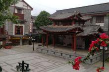 广西玉林陆川世客城,美食,仿古建筑
