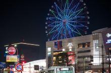 """夜色下的鹿儿岛,选的酒店依然是jr铁路的""""JR九州ホテル⿅児島"""",这次一出车站,有个转弯直接就到酒店"""