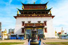 甘丹寺作为蒙古最大的寺庙值得看一看