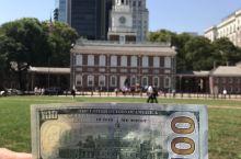 费城~ 独立宫—-美国梦开始的地方.自由观景台视野很好,可以俯瞰费城全景。全景平台有吧桌吧椅,可以等