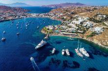 在希腊来一次海滩盛会  一直想要来一次希腊,终于在大学毕业的时候,和闺蜜来了一个说走就走的旅行,而米
