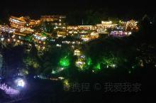 美丽的芙蓉小镇夜景