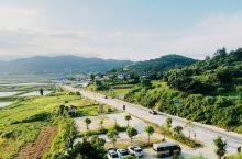 霞浦县东冲线路上
