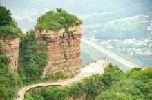 快来看东太行景区的五花肉岩石。河北邯郸武安市,东太行景区。