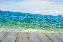 青海湖,天蓝蓝,水蓝蓝。