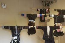 肇兴侗寨,博物馆的服饰展。