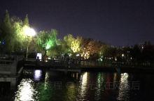 锦湖公园夜景
