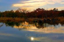 温暖的湖泊