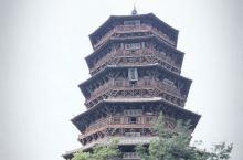 应县木塔,现存最久的木结构塔