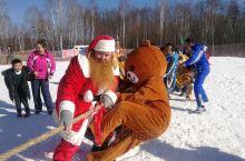 中国漠河北极圣诞村全国首滑滑雪 荷兰圣诞老人持证上岗 介个冬天给你精彩