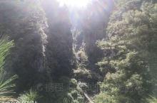 斜阳若影的苍山大峡谷