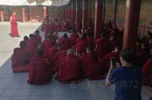 从甘南夏河拉扑楞寺出发往青海同仁,在这里发现有个很大的寺庙~隆务寺,据说是安多藏区仅次于拉扑楞寺的大