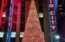 美国纽约圣诞节街景