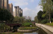 仁寿县中央水体公园 中央水体公园位于仁寿城北新城,是市民休闲购物的好去处。公园由水体景观设计著名国外
