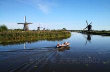 莱茵河之旅——小孩堤防风车群,列入联合国科教文组织世界遗产名录的荷兰最知名景点之一(4)。