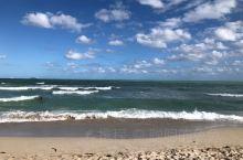 好漂亮的沙滩和海水