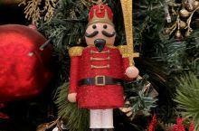 酒店的圣诞树挂件