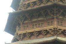 千年木塔,堪称奇迹。