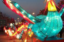 怀仁市的元宵节灯会。