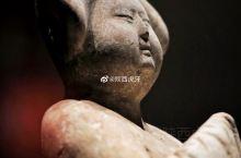 【彩绘仕女立俑】唐代,陕西省考古研究院藏,现展出于@乾陵博物馆