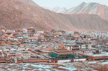 """打卡甘南拉卜楞寺 在去往大经堂的时候,路上的行人都迫不及待地前往大经堂。而我就像一个""""刚进村的孩子"""""""