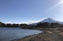富士山下, 有人家。 静静的河口湖, 有野鸭。 山水之间, 那一刻的阳光已是永久。
