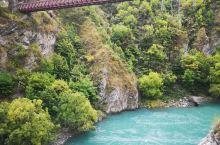 最刺激的蹦极,现代蹦极发源地-新西兰卡瓦劳蹦极大桥 卡瓦劳大桥(Kawarau Bridge)位于新