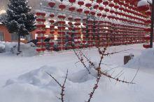 零下36度的雪谷