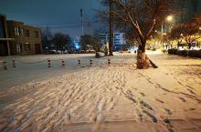 库尔勒下雪了虽然不在你身边注意保暖照顾好自己哦