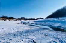 #呼伦贝尔-冬# 不出国也可以感受北海道的清美雪景; 凿冰捞哈喇,冰面当菜板,感受自然给予的极鲜美味