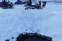 大雪中的长白山-