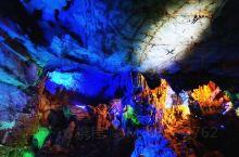 在贺州拍美照必来的地方 第一次有机会来到这个叫紫云洞的景点,感觉真的很特别,本来自然的生长已经很酷,