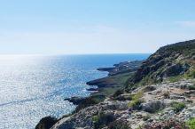马耳他 丁格利悬崖 本来准备航拍可惜边上就是飞机场。