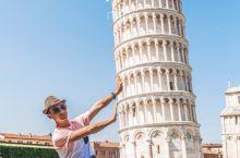 意大利加油像比萨斜塔一样永远不倒下!  近日有关意大利的疫情信息牵动着亿万人的心,想起自己2017年
