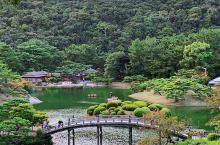回忆去年日本之旅-高松栗林公园  栗林公园是本次很期待的一个景点~如果你看过根据三岛由纪夫小说改编,