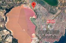 谷歌地图上也是粉色的!