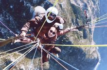 土耳其爱琴海岸·土耳其  :土耳其-费特希耶 高空滑翔伞体验 :淡季 666土耳其里拉 含照片与视频