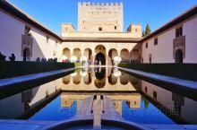 阿尔罕布拉宫(阿拉伯语:الحمراء,拉丁语:Al Ħamrā';即红色城堡、红宫,西班牙语:A