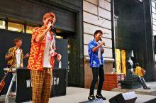 秋日,亚洲音乐节,在福岡天神大丸百货店前,看精彩表演!