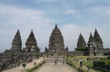 老照片,印尼日惹,普兰巴南。
