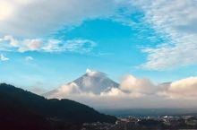 天氣好好,富士山