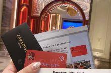 今天去了百乐达斯城度假村棒棒的 只有外国人可以办的会员卡哦 凭娱乐场会员卡可享受多样的优惠,会员卡可