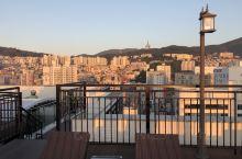 酒店樓頂的露天觀景臺超贊