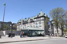 魁北克老城区。