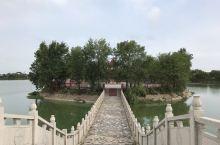 淮滨西湖公园——水榭楼台,淮河风情!