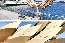 日本香川县 小豆岛 攻略 从高松港到小豆岛土庄港的渡轮班次间隔40-50分钟,航程差不多半个多小时,