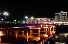 国庆台城夜色